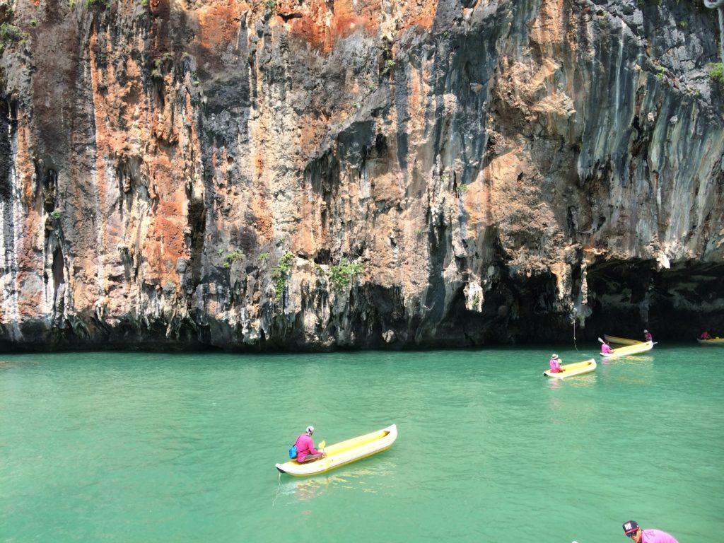 ジェームスボンド島ツアー、ボートに乗って島巡りのあとは・・・