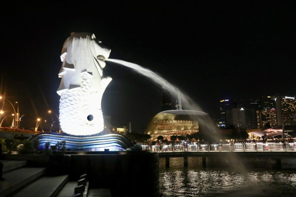 川沿いDinnerで、シンガポールの夜を堪能