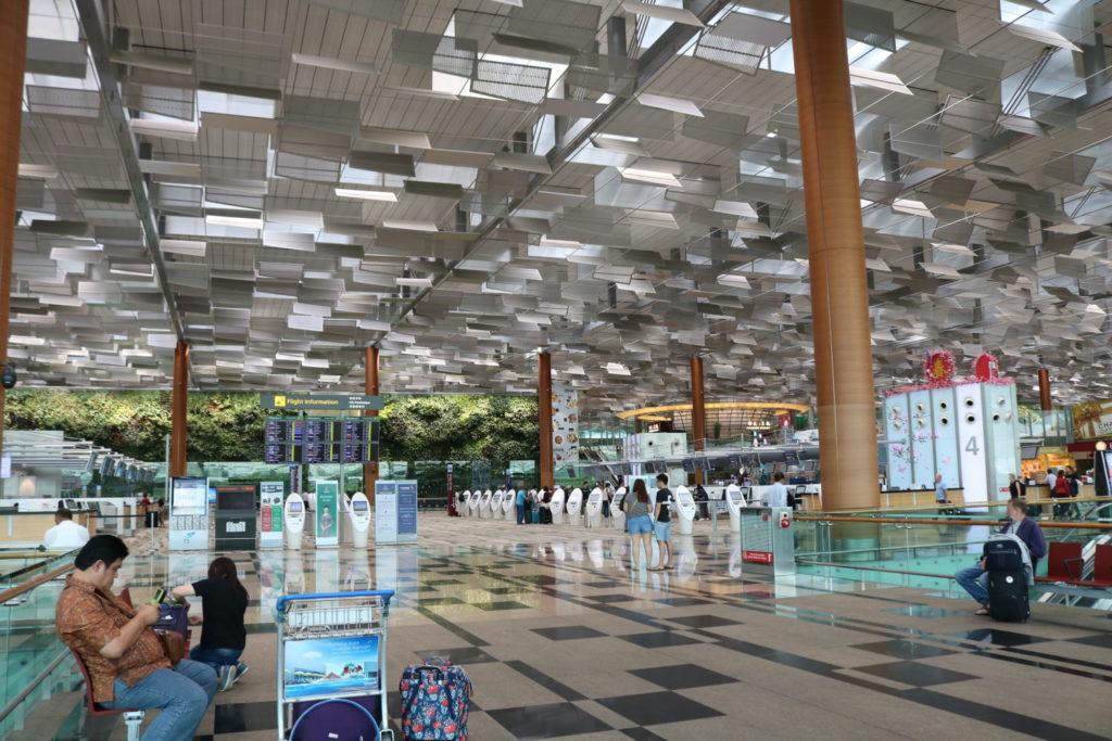 シンガポールのチャンギ空港に興味シンシン!